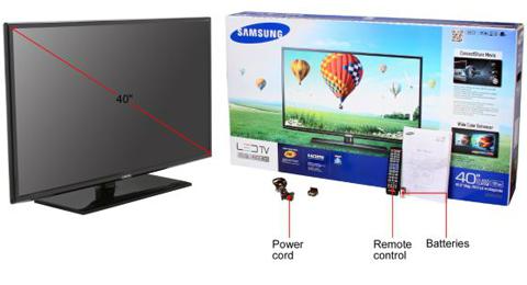 Samsung UN40FH6030