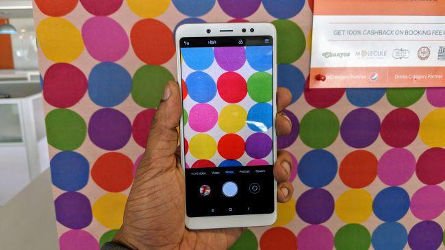 Xiaomi Redmi Note 5 Pro Camera