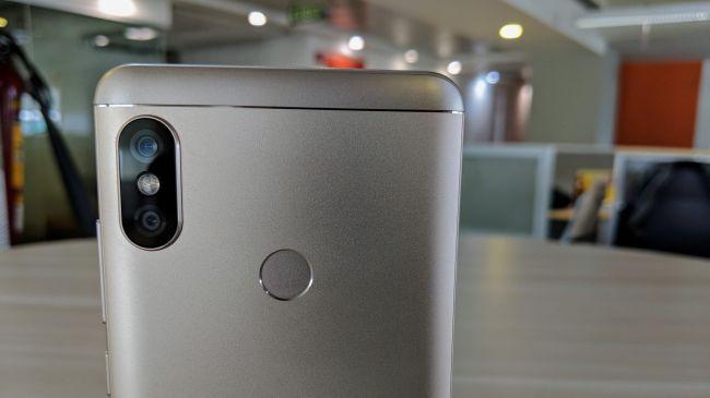 Xiaomi Redmi Note 5 Pro Rare View